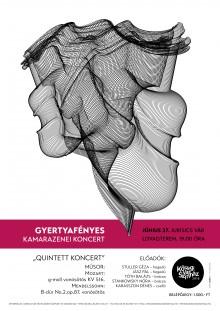 Gyertyafényes Kamarazenei Koncert plakát