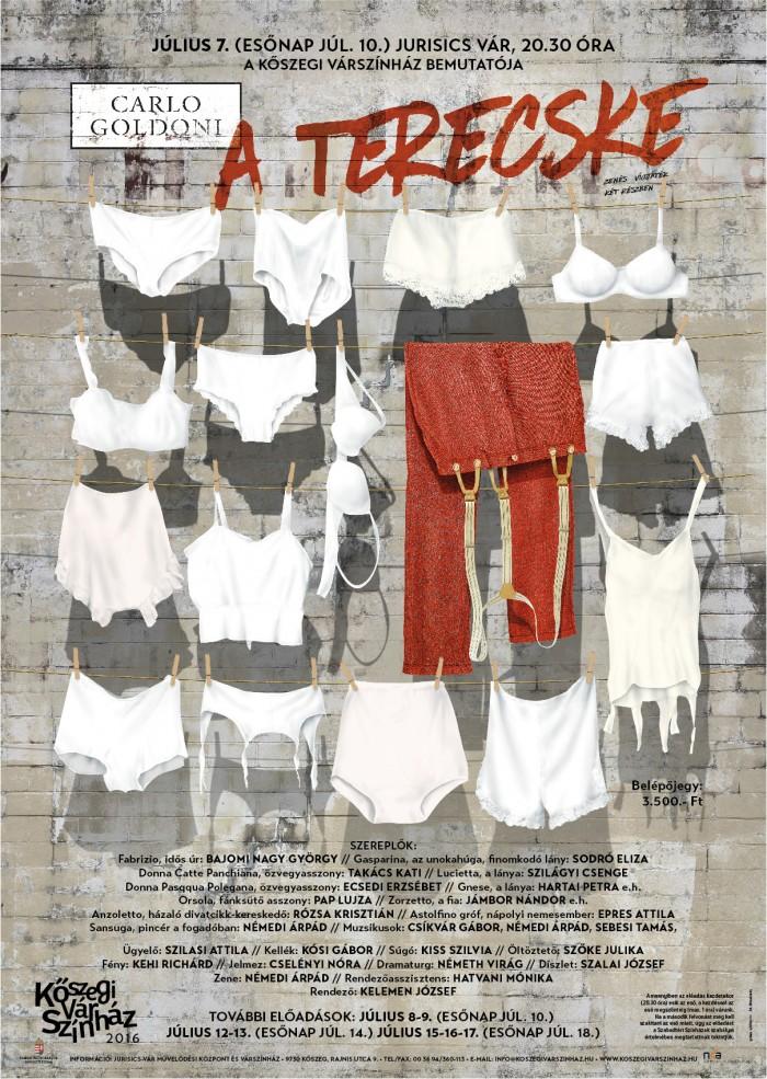 C. Goldoni: Terecske plakát