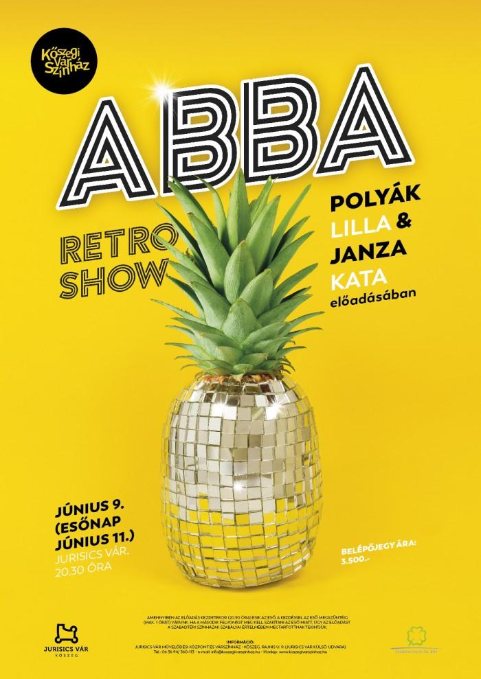 ABBA –és Retro Show plakát