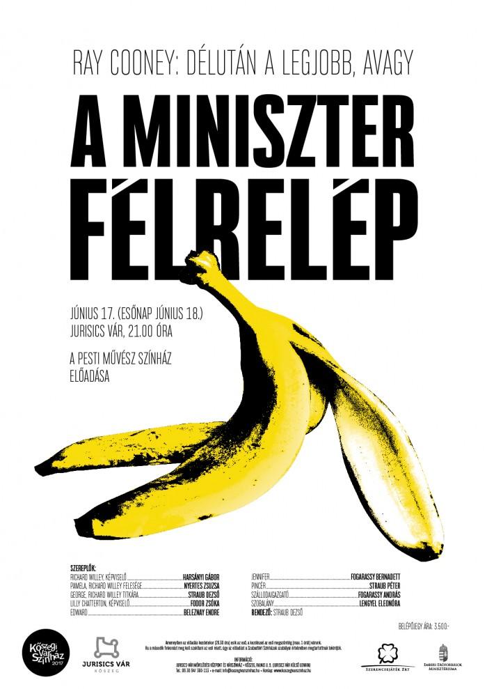 Délután a legjobb, avagy a miniszter félrelép plakát