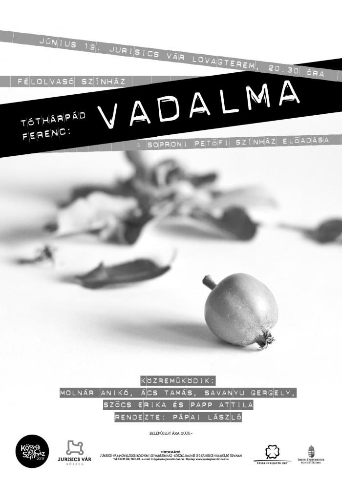 Vadalma - FÉLolvasó színház plakát