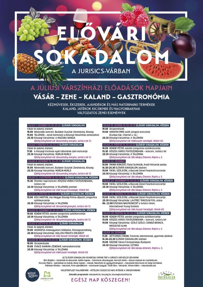 ELŐVÁRI SOKADALOM plakát